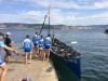 XXXV Bandera Concejo de Moaña. Decimoquinta regata de la Liga Eusko Label, celebrado el sábado 26 de agosto de 2017 en Tirán-Moaña (Pontevedra).