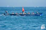 XXXIX Bandera de Zarautz (2ª jornada), decimotercera regata de Liga San Miguel - ACT, celebrada el 14 de agosto de 2016 en Zarautz (Guipúzcoa). Foto Liga ACT.