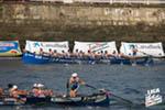 VIII Bandera Ambilamp, celebrada en Portugalete el sábado 27 de agosto de 2016, decimosexta regata de Liga San Miguel-ACT.
