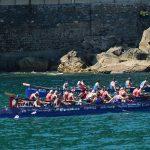 XXXIX Bandera de Zarautz (2ª jornada), decimotercera regata de Liga San Miguel - ACT, celebrada el 14 de agosto de 2016 en Zarautz (Guipúzcoa). Foto Diario Vasco.