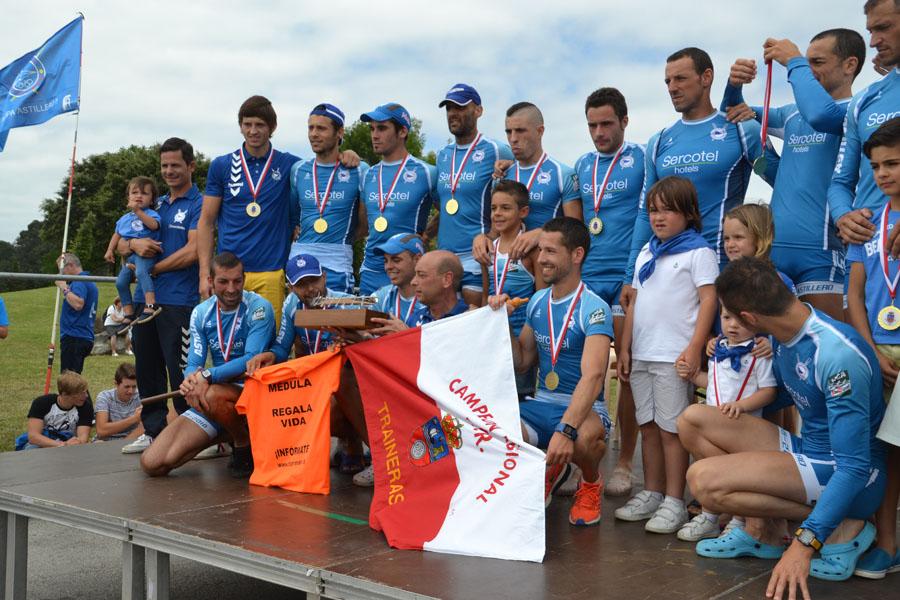 LII Campeonato Regional de Cantabria de Traineras, celebrado en Punta Parayas (Camargo), el 28 de julio de 2016. Foto Gerardo Blanco.