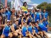 XLI Bandera Villa de Bilbao, decimosexta regata de Liga ARC-1 2018, celebrada el domingo 19 de agosto en Bilbao.
