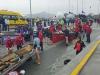 XVI Descenso del Bidasoa, celebrado en Hondarribia (Guipúzcoa), sabado 13 de febrero de 2016.