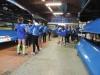 Regata de la Liga Regional de Bateles, celebrada en Camargo, el sábado 13 de febrero de 2016.